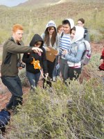 Endophyte Diversity Workshop, Tucson High: January-May 2012